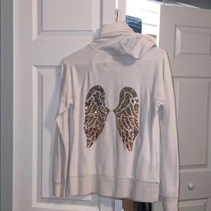 Victoria's Secret white angel sweater